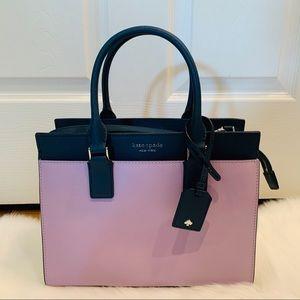 Kate spade Cameron medium satchel lavender bag new